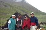 티베트 유목민 여인과 코엔자임큐텐
