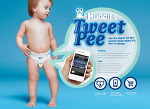 아기가 기저귀 용변을 볼때마다 트윗으로 알려주는 하기스(Huggies)의 TweetPee.