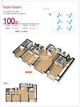 양산신도시 양우3차아파트 39평 100㎡ 평면도[양산양우내안애3차]