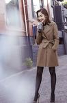 박민영, 커피 한 잔과 '트렌치코트'의 여유로움