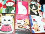 츄츄, 즐거운 고양이 스티커/엽서 모으기
