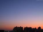 금성과 목성, 그리고 초승달 (Venus, Jupiter, and Crescent Moon)