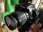 캐논 EOS 450D DSLR 중고 카메라 16만원에 스톱모션용 라이브뷰 기능용으로 구입