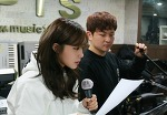허각-에이핑크 정은지, 콘서트 연습 사진 공개