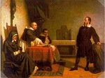 갈릴레오 갈릴레이의 관성의 법칙.