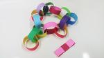색종이로 목걸이와 팔찌 만들기 (부제: 방학 끝!)