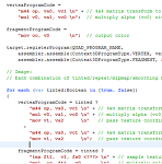 Starling 과  Image. 그리고 VertexData - 2. stage3D 맛보기