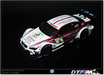 revell 1/24 bmw m3 dtm 2013 crowne plaza - carbon full detail modified