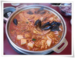 The Best Choice for Lunch, Songtan Budae Jjigae & Cheolpangui in Front of Konkuk University