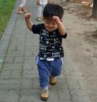 둘째육아일기, 즐거운 산책길