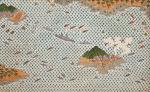 북방한계선란도Korean color on hemp100×162cm2013