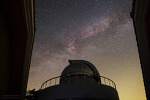 Observatory, Cygnus, and Milky way