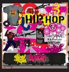 [무료벡터이미지]DJ음악 디자인 요소, 음의벽(오래된 학교, 오디오, 카세트 테이프)