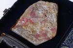 P-362. 창화 계혈석 작품  -계혈석, 여기저기알튐, 좌대포함(갈라짐있음)- (576g)