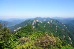 괴산 · 문경 조령산 : 이화령 ~ 정상 ~ 신선암봉 ~ 조곡관