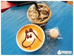[압구정로데오역 카페] 무민앤미 :: Cafe Moomin & Me 무민푸드, 무민라떼