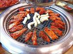 춘천닭갈비, 양이 아쉬운 구워먹는 매콤한 닭갈비