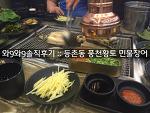 [와9와9 솔직후기] 등촌동 맛집 풍천황토 민물장어
