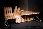 디자인 의자::트랜스포머 의자::변신 벤치