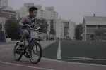 여름날 자전거 연습 모음. .