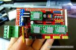 페이스트 3D 프린터 제작: 6.보드 조립 및 전기배선