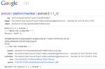 Android 5.1.1 release 3 및 Nexus시리즈의 5.1.1 배포 및 다운로드