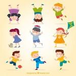 다양한 모습의 어린이 일러스트 그림모음