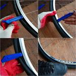 로드바이크 클린처 타이어 분리 및 설치 펑크 수리법.