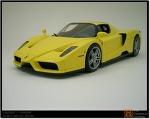 [TAMIYA] Enzo Ferari - 'gialo fly' color