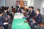 구군장애인체육회 설립을 위한 구군청장 임명장 전달