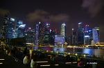 싱가폴 마리나베이샌즈와 랜턴바의 야경