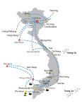 베트남 신투어 오픈투어버스 노선및 시간표