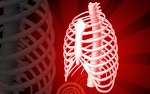 흉추(thoracic vertebrae)의 좌우 만곡(curvature)이 흉곽(rib cage)에 미치는 영향