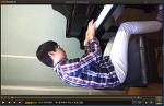녹화된 동영상 쉽게 회전 시키는 방법