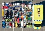 구조대, 경찰, 소방관등의 장비를 구경하는  테트리스 챌린지(Tetrischallenge)