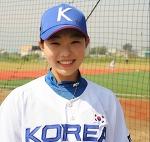 """한국 여자 야구 대표팀이 최초로 슈퍼라운드에 진출하게 한 """"에이스 김라경"""""""