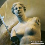 루브르 박물관 유명작품 조각 : 밀로의 비너스, 사모트라케의  니케 @ 드농관