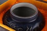 AG54. 도자기 호 - 여기저기 알튐 및 가마유가 보여짐 - (1.4Kg)