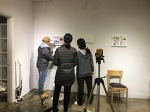 설레는 준비, 설치 현장! _마을미술관 닷라인TV_시시콜콜 밥상의 발견 프로젝트 展