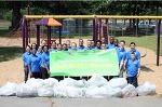 [장길자회장 클린월드운동] 국제위러브유 미국 뉴욕주 시러큐스 컴포트 타일러 공원 (Comfort Tyler Park) 환경정화운동
