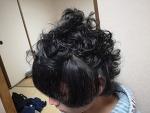 오사카는 장마철~장마철에 곱슬머리