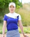 """미녀 골퍼의 대명사 """"김자영2 프로 골퍼""""- 아름다운 미모의 소유자"""