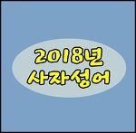 2018년사자성어 정리