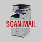 리코코리아 ricoh mpc2003 scan mail 발송