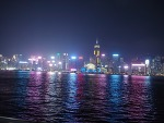 살짝 달라진 홍콩야경 / 침사추이 전망대 야경