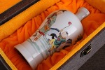 AG160. 도자기 병  - 여기저기 알튐 및 가마유가 보여짐 - (263g)