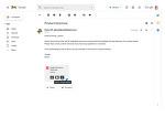 구글 Gmail 오피스 파일 통합, 첨부파일 문서 직접 편집 업데이트