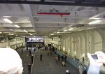 일본 휴우가급의 엘리베이터와 격납고