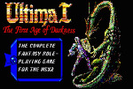 [MSX2] 울티마 1 (Ultima 1 - First Age of Darkness) 1988 - [2]