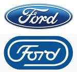포드(Ford)가 플랫 로고 디자인 트렌드를 거부하는 까닭은?